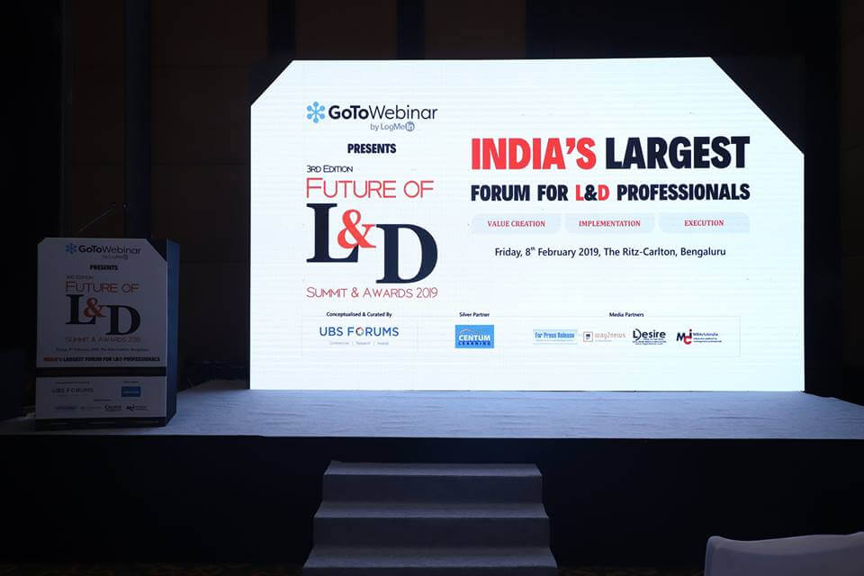 3rd Edition Learning And Development Summit & Awards(Bengaluru)