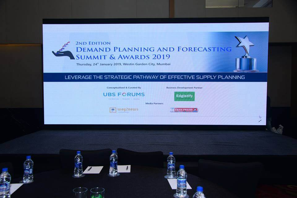 Demand Planning and Forecasting Summit and Awards 2019