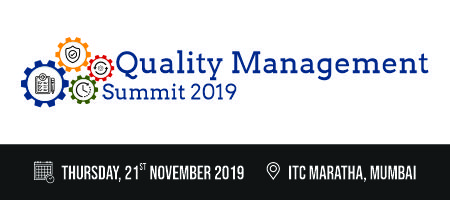 Quality Management Summit 2019